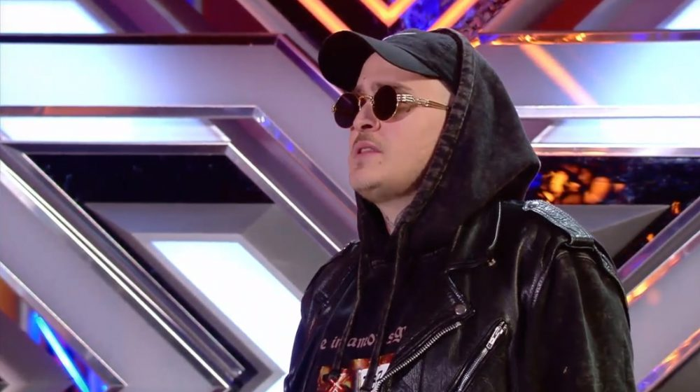 Xcese lleva el trap a Factor X y se mete al jurado en el bolsillo