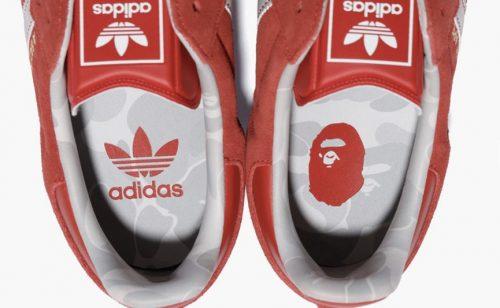 La nueva colección de BAPE x adidas Originals está al caer