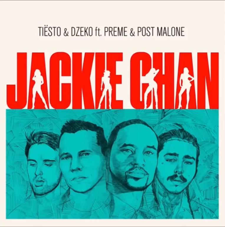 Post Malone, Tiësto, Dzeko y Preme sueltan 'Jackie Chan'