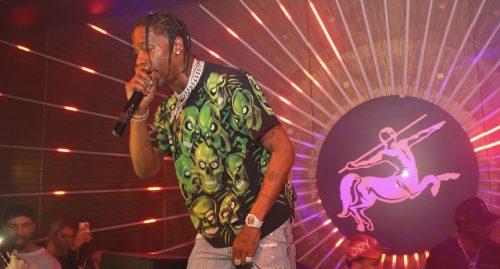 Travis Scott presenta una nueva canción en el festival Rolling Loud