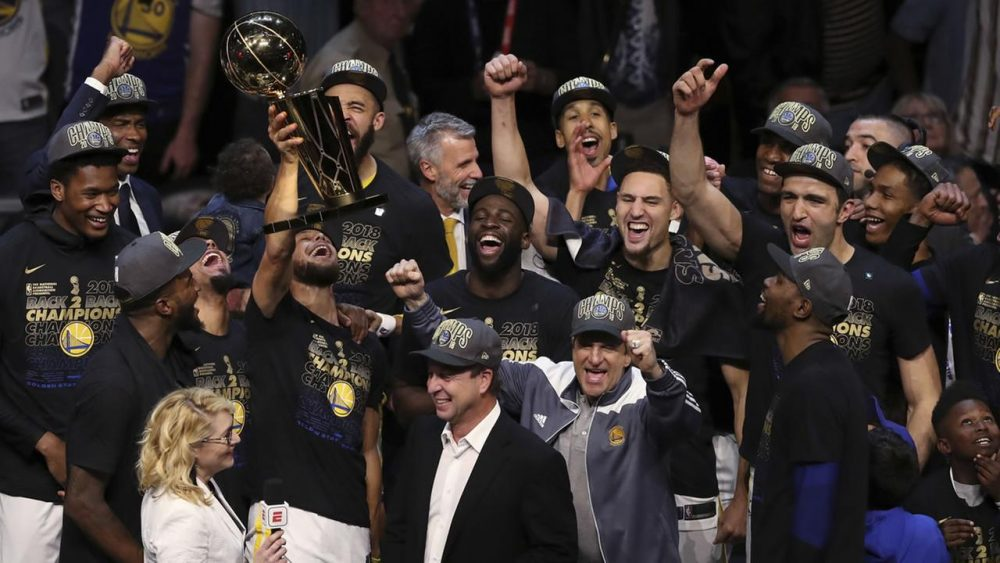 Golden State Warriors vuelven a proclamarse reyes de la NBA