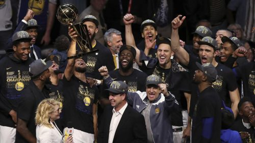 Golden State Warriors vuelven a proclamarse reyes de la NBA