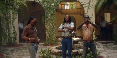 Migos son los reyes de su Cartel en el clip de 'Narcos'