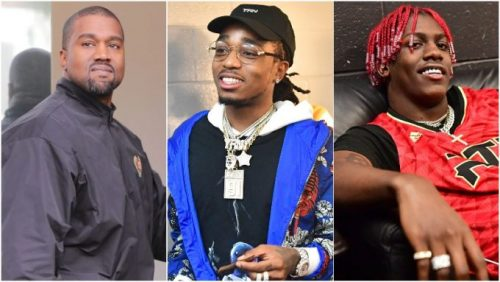 Kanye West se une a Quavo y Lil Yachty para 'Face Down'