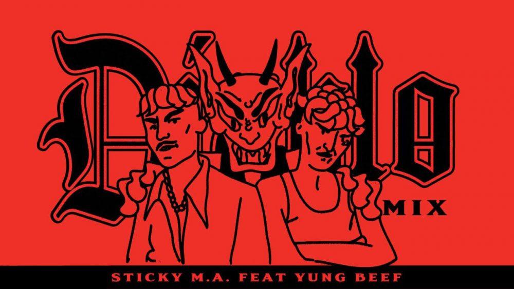 Sticky M.A. y Yung Beef se encuentran en el infierno para el remix de 'Diablo'