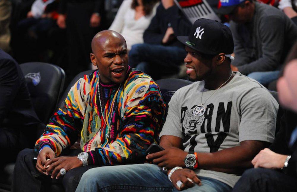 50 Cent en guerra con Floyd Mayweather con denuncias de por medio