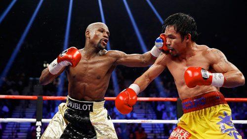 Manny Pacquiao reta a Floyd Mayweather a un nuevo combate