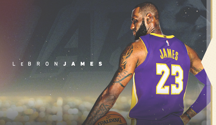 LeBron James firma oficialmente su contrato con los Lakers
