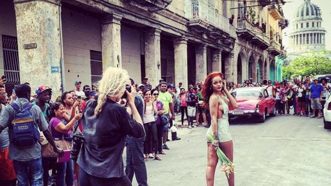 Rihanna y Donald Glover ruedan en Cuba su nueva película