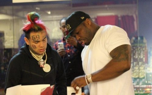 Disparan en el set de grabación del clip de 50 Cent y 6ix9ine