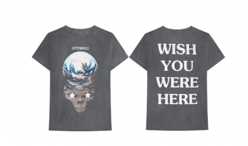CAMISETAS 500x295 - Travis Scott juega a ser Dios en el visual de 'Stop Trying to Be God'