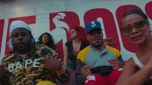 Chance The Rapper y Reeseynem traen la felicidad en «What's The Hook»