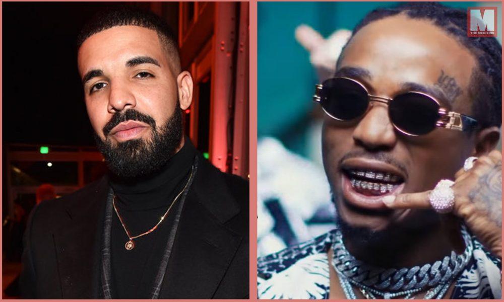 Drake pierde diez mil dólares en una apuesta con Quavo