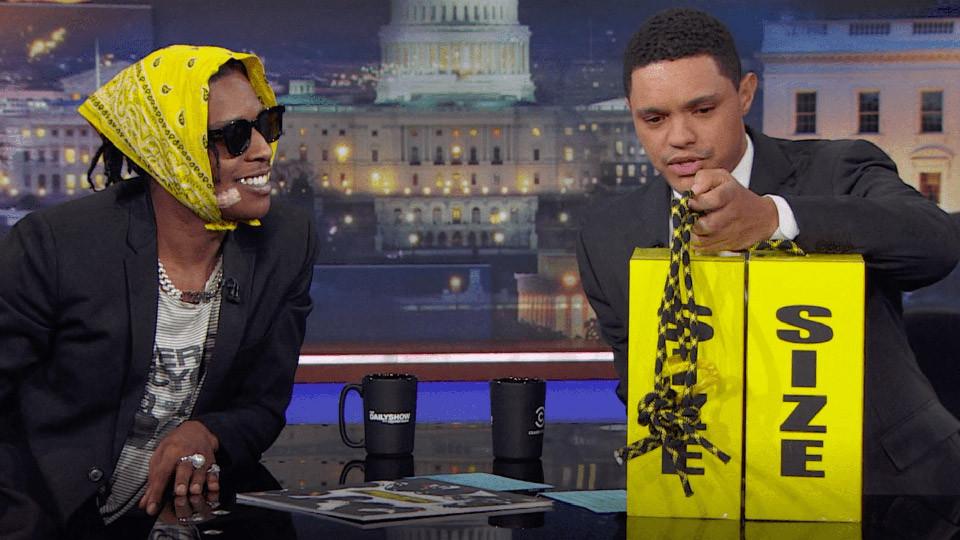 A$AP Rocky anuncia en 'The Daily Show' que lanzará una colección junto a Under Armour