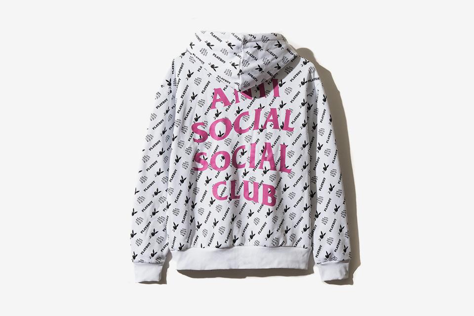 Sold-out fugaz de lo nuevo de Playboy White Label x Anti Social Social Club