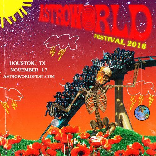 astroworld fest 500x500 - Travis Scott desbanca a Drake del top 1 de Billboard con 'Astroworld'