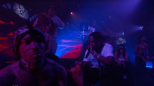 A$AP Rocky acompaña a Blood Orange en 'Chewing Gum' para Jimmy Kimmel