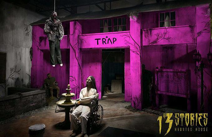 2 Chainz convierte su Trap House rosa en una casa encantada