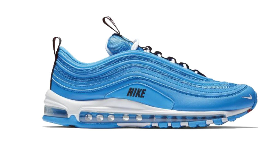 Nike reinevnta las Air Max 97 con el nuevo color 'Blue Hero'