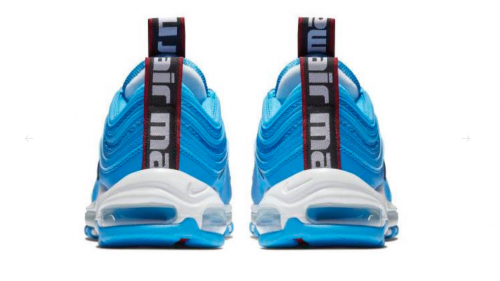 Air Max Blue Hero 2 e1537738210530 500x281 - Nike reinventa las Air Max 97 con el nuevo color 'Blue Hero'