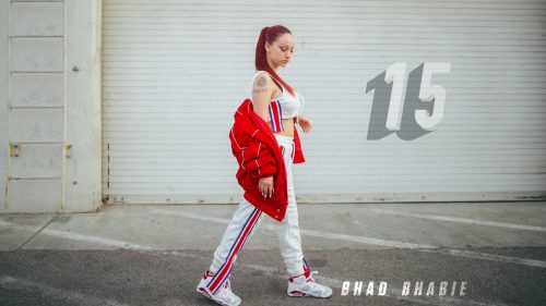 Bhad Bhabie se rodea de estrellas en '15', su primera mixtape