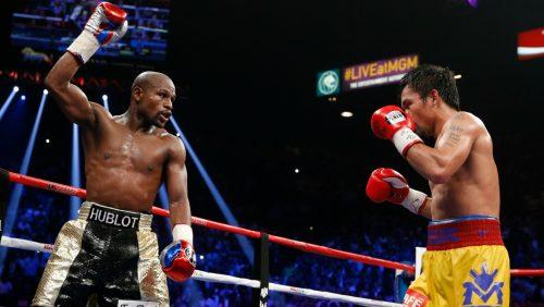 Floyd Mayweather volverá a enfrentarse a Manny Pacquiao