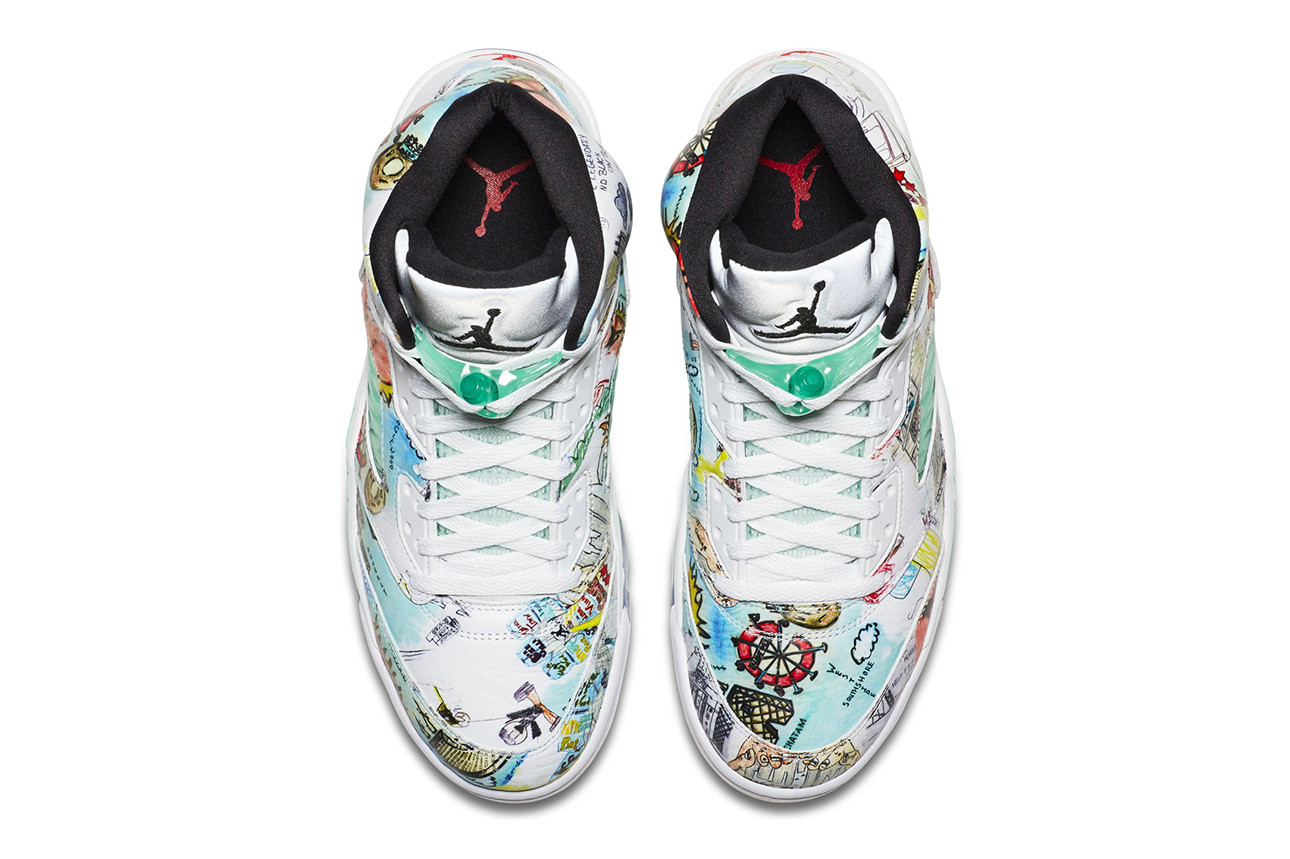 "https 2F2Fhypebeast.com2Fimage2F20182F092Fair jordan 5 wings release date official imagery 5 - Primeras imágenes oficiales de las Air Jordan 5 Retro ""Wings"""