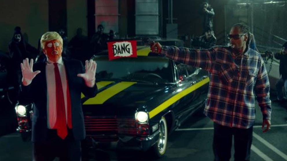Snoop Dogg llama racista a Kanye West y a los seguidores de Trump