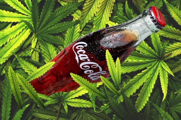 Coca-Cola planea poner a la venta bebidas que contengan marihuana