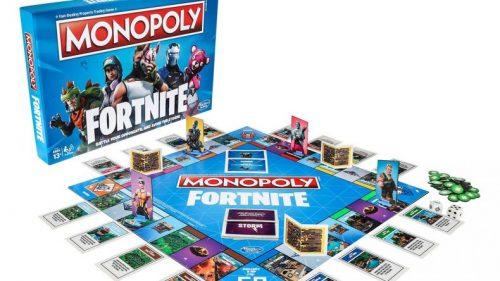 Fortnite asalta los juegos de mesa con una edición especial del Monopoly