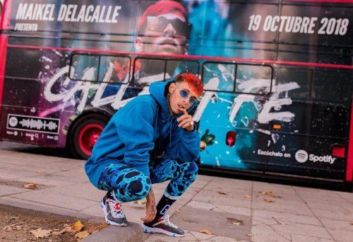 Escucha aquí el álbum de Maikel Delacalle 'Calle Y Fe'