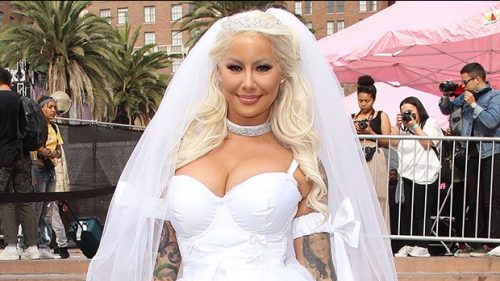 Amber Rose presenta a su nuevo novio en el 'SlutWalk 2018'