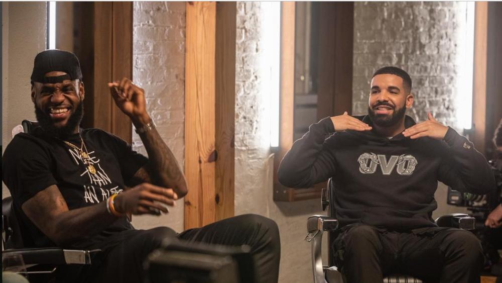 LeBron James y Drake reflexionan sobre sus retiradas en el próximo episodio de 'The Shop'
