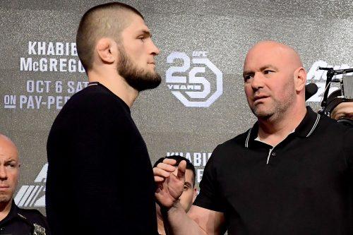 Dana White niega totalmente los rumores de revancha entre McGregor y Khabib