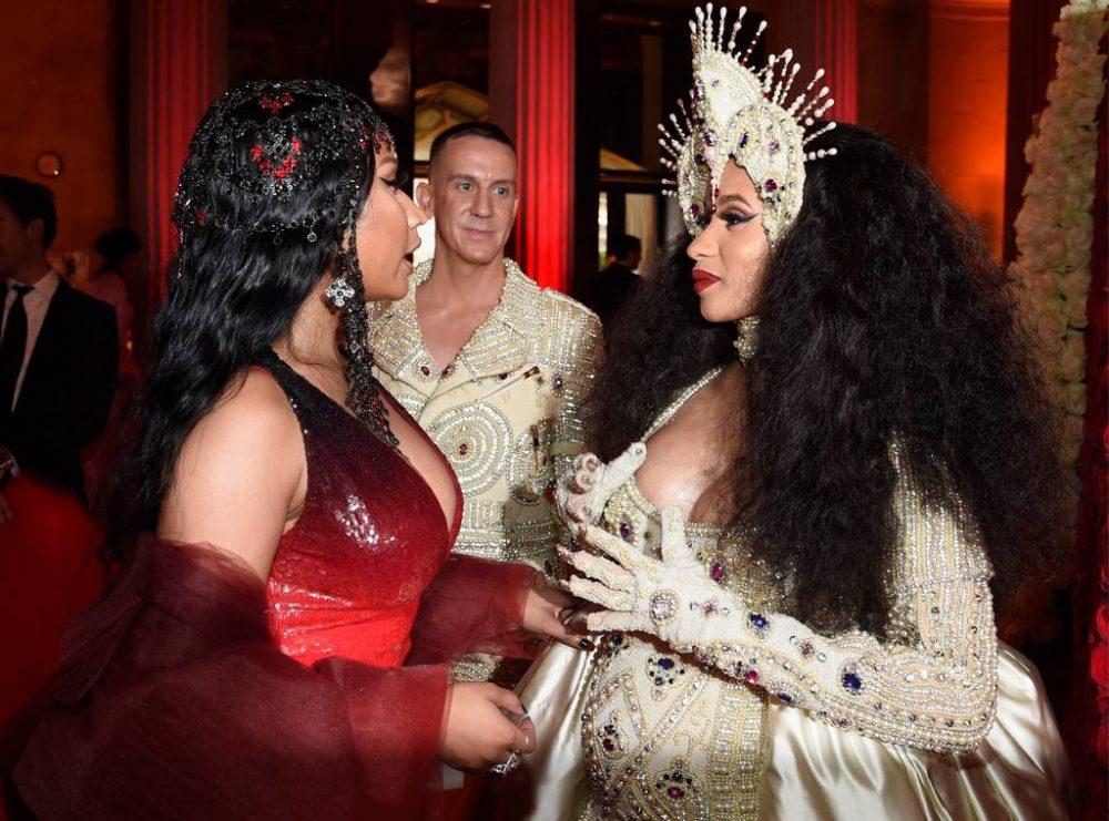 Nicki Minaj y Cardi B revolucionan las redes sociales con un nuevo capítulo de su beef