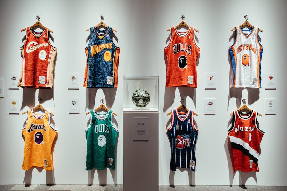 BAPE x NBA: prepárate para pillar la elástica de tu equipo favorito
