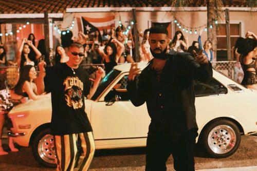 'Mía', de Drake y Bad Bunny, primer single en español liderando Apple en USA