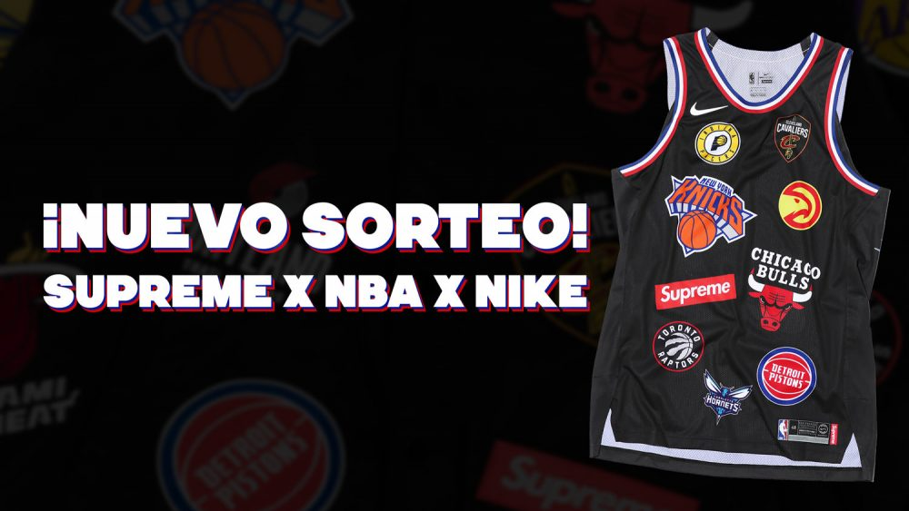 ¡Sorteamos un 'jersey' de Supreme x NBA x Nike!
