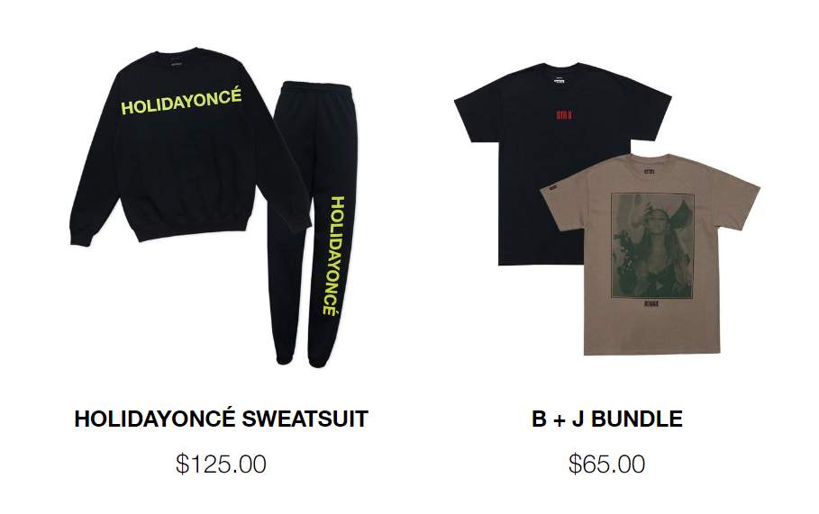 4 - Beyoncé lanza 'Holidayoncé', una colección de merchandising