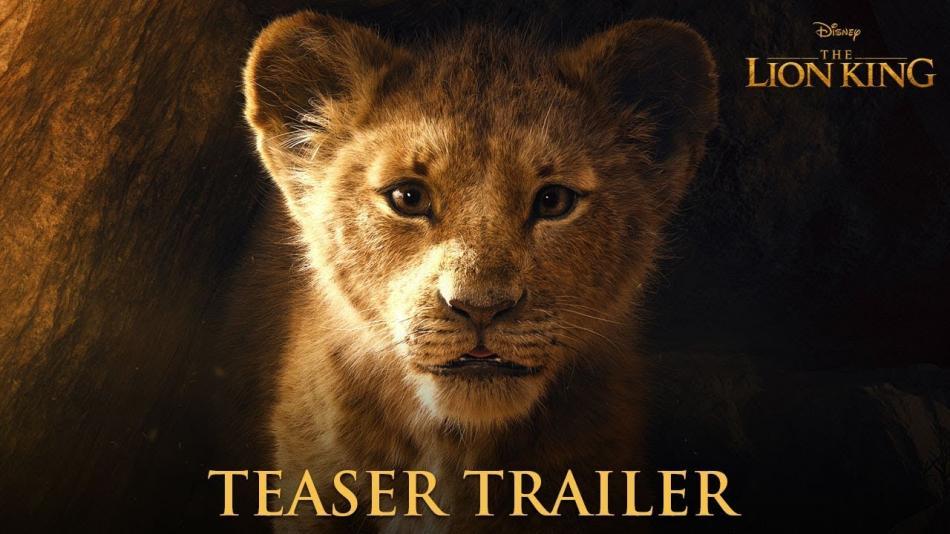 La película de acción real de 'El Rey León' nos trae su primer tráiler