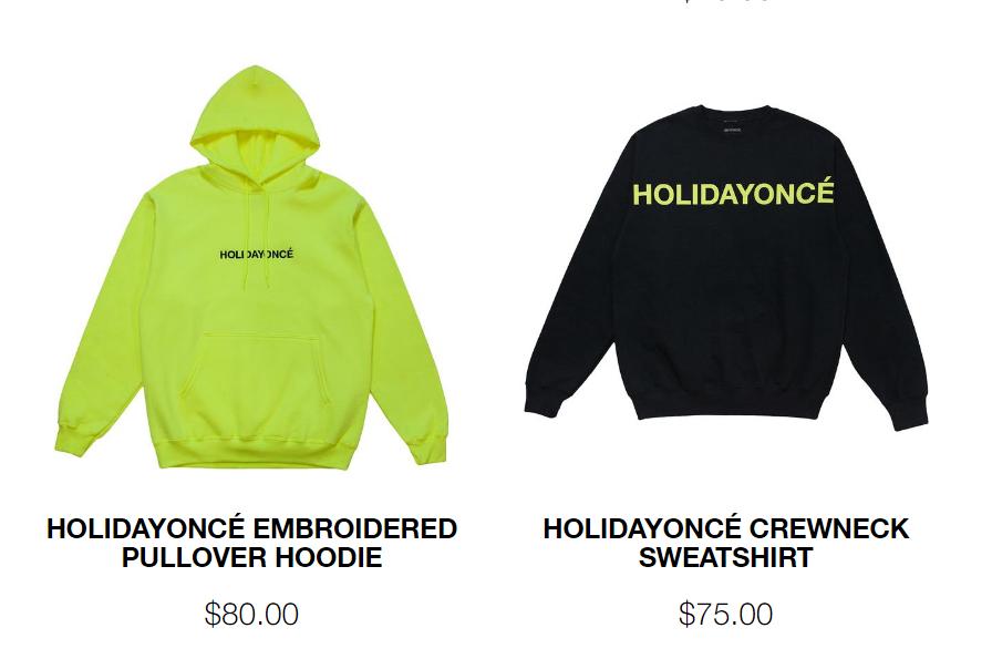 6 - Beyoncé lanza 'Holidayoncé', una colección de merchandising