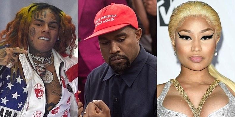 Aparecen imágenes del tiroteo en el videoclip de 6ix9ine, Kanye y Nicki Minaj