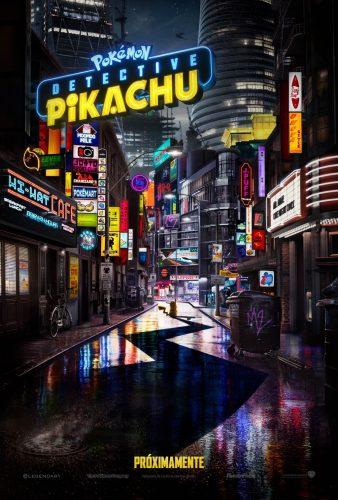 "DETECTIVEPIKACHU 338x500 - Ya está aquí el primer tráiler de ""Pokémon: Detective Pikachu"""