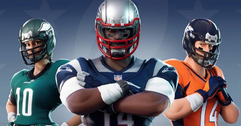 Fortnite y NFL colaboran en una nueva línea de skins