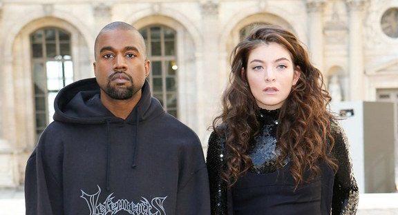 ¿Copiaron Kanye West y Kid Cudi el diseño del escenario a Lorde?