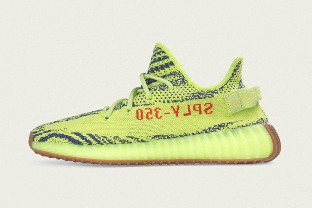 Conoce los detalles del relanzamiento de YEEZY Boost 350 Semi Frozen Yellow