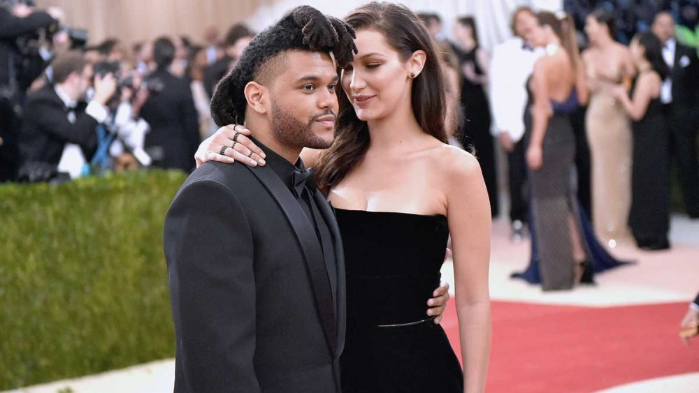Rumores de boda entre The Weeknd y Bella Hadid