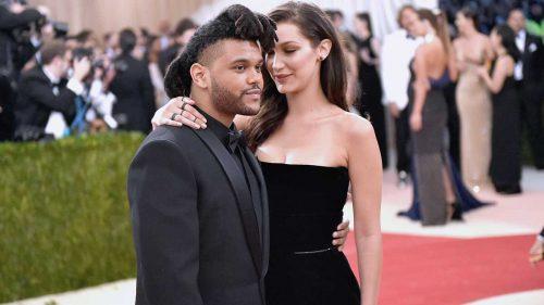 Rumores de boda entre The Weeknd y Bella Hadid