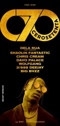 cartel 241x500 - Ven a celebrar el tercer aniversario de la 070 Golden en Alicante