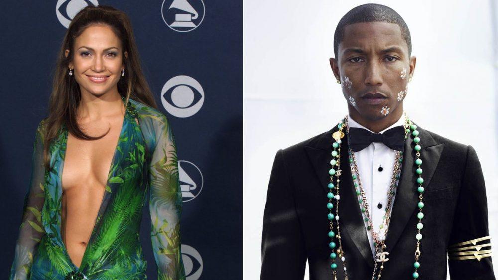 Pintan las estrellas del Paseo de la Fama de Hollywood de Pharrell y J Lo